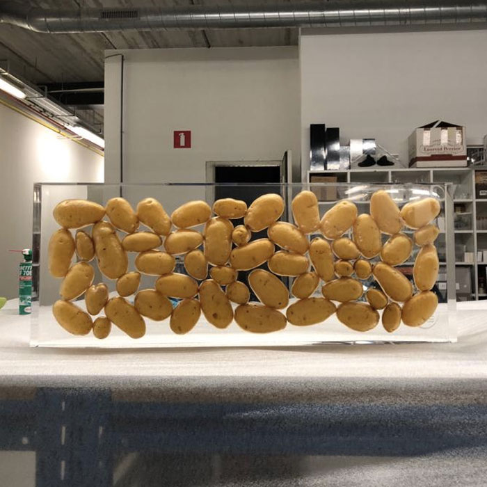 Pomuni – Ingieten van aardappelen